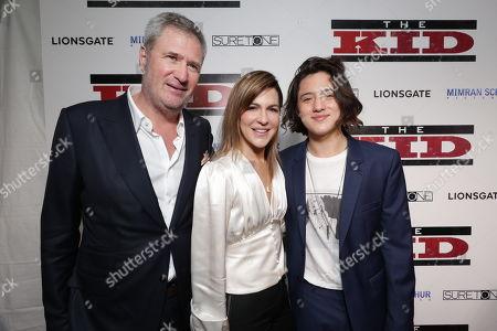 Producer Jordan Schur, Stephanie Schur and Jake Schur