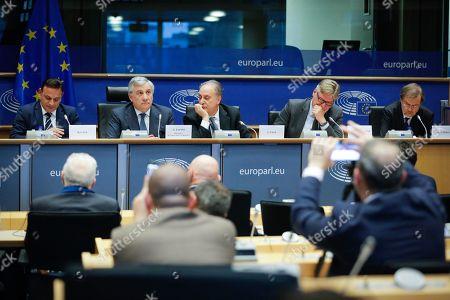 David Casa, Antonio Tajani, Lorenzo Cesa, Antonio Lopez-Isturiz White, Alojz Peterle