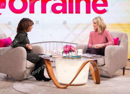 Lorraine Kelly and Jacquie Beltrao
