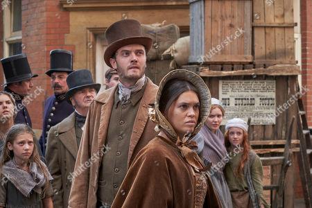 Kerr Logan as Patrick and Sabrina Bartlett as Abigail.