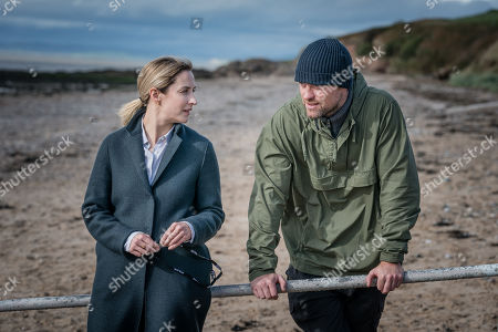 Morven Christie as Lisa Armstrong and Jonas Armstrong as Sean