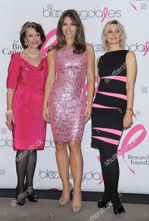 Editorial picture of The Estee Lauder Companies' Breast Cancer Awareness Campaign at Bloomingdales 59th Street, New York, America - 12 Oct 2009