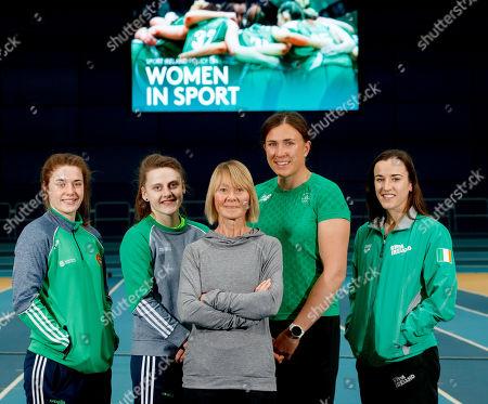 Editorial image of Sport Ireland Women In Sport Policy Launch, National Indoor Arena, Dublin  - 07 Mar 2019