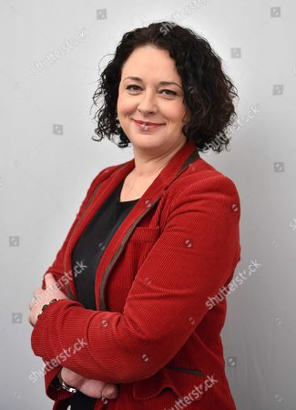 Stock Image of Sylvia Pinel, President of the Radical Party of the Left