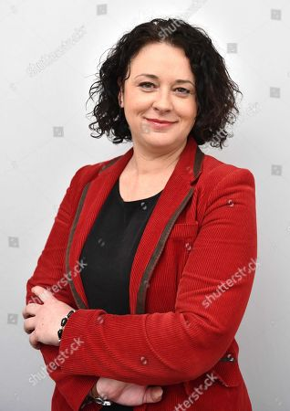 Stock Picture of Sylvia Pinel, President of the Radical Party of the Left