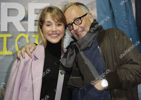 Alice Isaaz and Fabrice Luchini