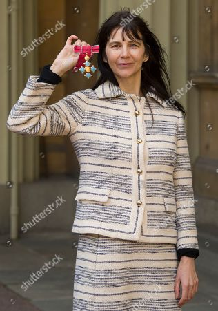 Stock Image of Gillian Wearing with her CBE