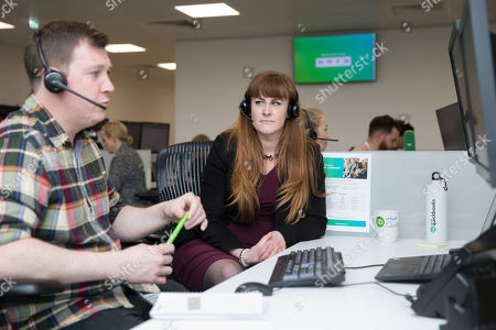 Editorial photo of SMB Minister Kelly Tolhurst MP visits Intuit QuickBooks' New London Offices, UK - 07 Mar 2019