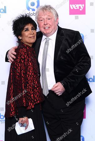Nick Ferrari and Moira Stuart