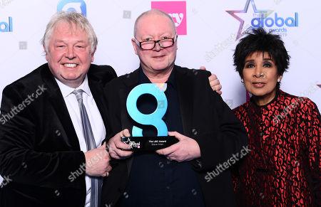 Stock Picture of Nick Ferrari, Steve Allen and Moira Stuart