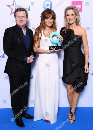 Aled Jones, Nicola Benedetti and Charlotte Hawkins