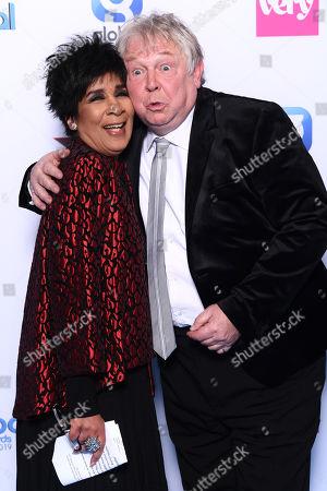 Stock Photo of Nick Ferrari and Moira Stuart