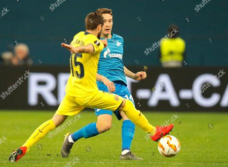 Editorial picture of Russia Soccer Europa League, St.Petersburg, Russian Federation - 07 Mar 2019
