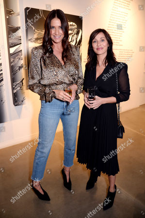 Lisa Snowden and Natalie Imbruglia