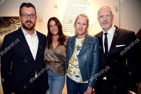 George Smart, Lisa Snowdon, Katrin Fridriks and Jean-David Malat
