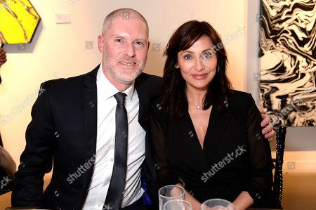 Jean-David Malat and Natalie Imbruglia