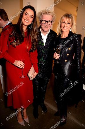 Nani Jacques-Malat, Steve Edge and Ann-Charlotte Gerdne