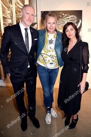 Jean-David Malat, Katrin Fridriks and Natalie Imbruglia