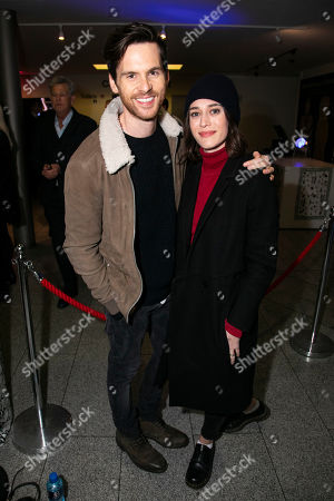 Tom Riley and Lizzy Caplan