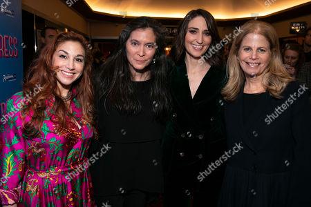 Lorin Latarro (Choreographer), Diane Paulus (Director), Sara Bareilles (Music/Lyrics) and Jessie Nelson (Author)