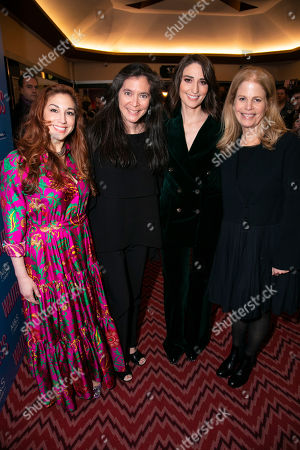 Editorial picture of 'Waitress The Musical' musical, Press Night, London, UK - 07 Mar 2019