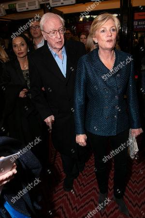 Shakira Caine, Sir Michael Caine and Madeleine Lloyd-Webber