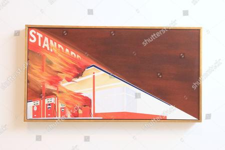 'Burning Gas Station' 1965