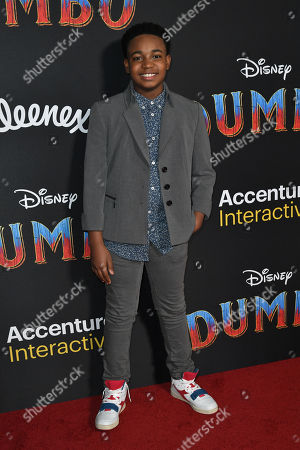 Editorial image of 'Dumbo' Film Premiere, Arrivals, El Capitan Theatre, Los Angeles, USA - 11 Mar 2019