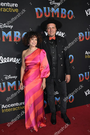 Stock Image of Regine Chassagne and Win Butler