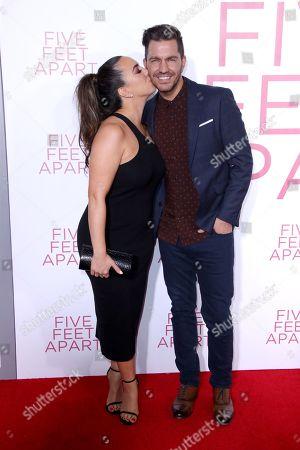 Editorial photo of 'Five Feet Apart' Film Premiere, Arrivals, Regency Bruin Theatre, Los Angeles, USA - 07 Mar 2019