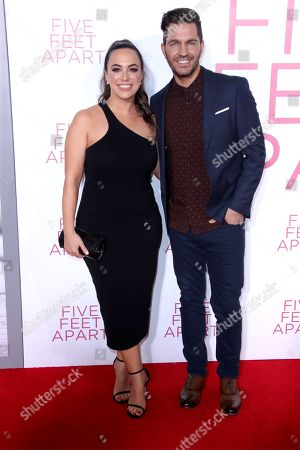 Stock Image of Aijia Lise and Andy Grammer