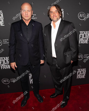 Stock Photo of Mike Judge and Richard Linklater