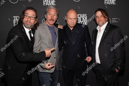 David Herman, Gary Cole, Mike Judge, and Richard Linklater