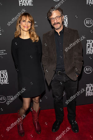 Lynn Shelton and Marc Maron