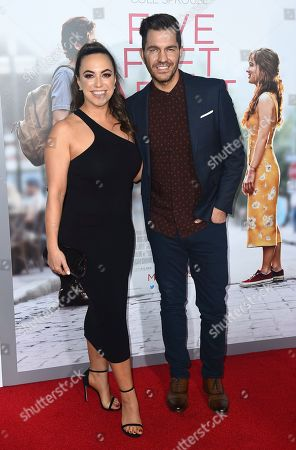 "Andy Grammer, Aijia Grammer. Andy Grammer, right, and Aijia Grammer arrive at the Los Angeles premiere of ""Five Feet Apart"" on in Los Angeles"