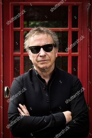 Henley-on-thames United Kingdom - June 14: Portrait Of British Musician Paul Myers Bassist With Rock Group The Professionals Photographed In Henley-on-thames England On June 14