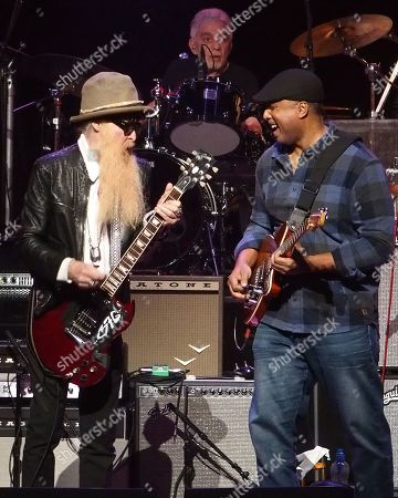 Billy F. Gibbons and Bernie Williams