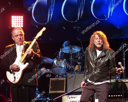 Jimmie Vaughan and Robert Plant