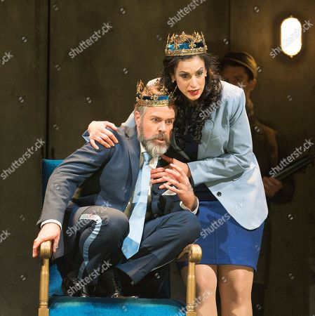 Editorial picture of 'Macbeth' Opera performed by English Touring Opera at Hackney Empire, London, UK, 08 Mar 2019