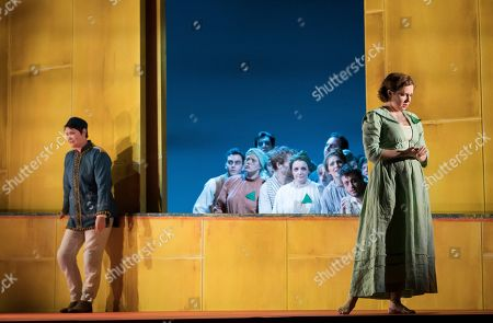 Editorial picture of 'Idomeneo' Opera performed by English Touring Opera at Hackney Empire, London, UK, 08 Mar 2019