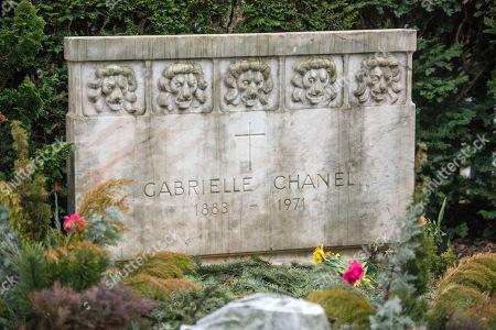 67b7b11c4ec3 Editorial image of Bois-de-Vaux cemetery in Lausanne, Switzerland - 01 Mar