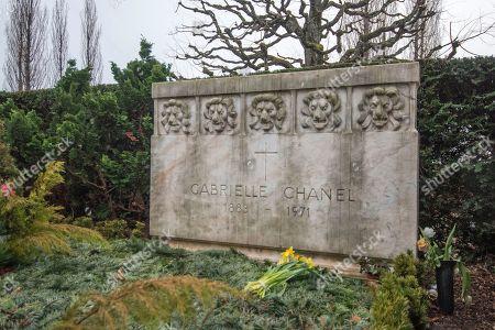 a80c0a273195 The grave of Gabreille 'Coco' Chanel in the Cimetière du Bois-de-