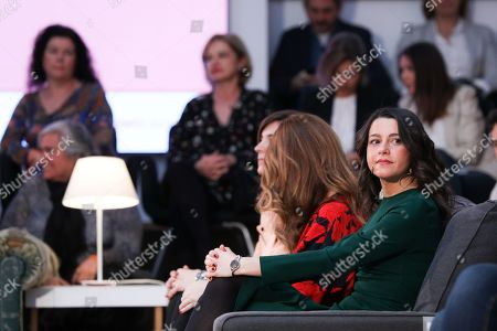 National party spokesperson Ines Arrimadas Garcia seen during the event