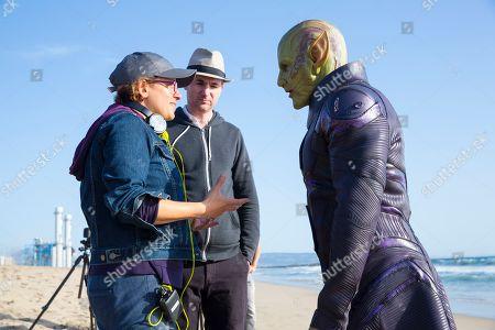 Anna Boden Director, Ryan Fleck Director and Ben Mendelsohn as Talos