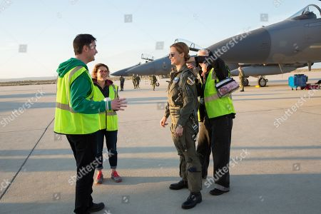Ryan Fleck Director, Anna Boden Director and Brie Larson as Carol Danvers