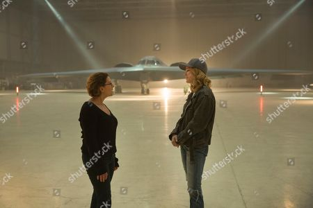 Anna Boden Director and Brie Larson as Carol Danvers