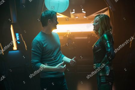 Ryan Fleck as Director and Brie Larson as Captain Marvel