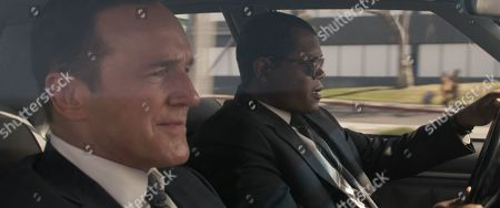 Clark Gregg as Agent Coulson and Samuel L. Jackson as Nick Fury