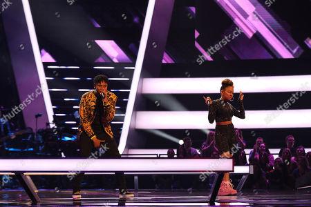 Team Will: Gabriel and Shivon Kane perform.