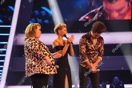 Team Olly. Lauren Hope and Harrisen Larner-Main perform. Olly chooses Harrisen to go through to the next round. With Emma Willis